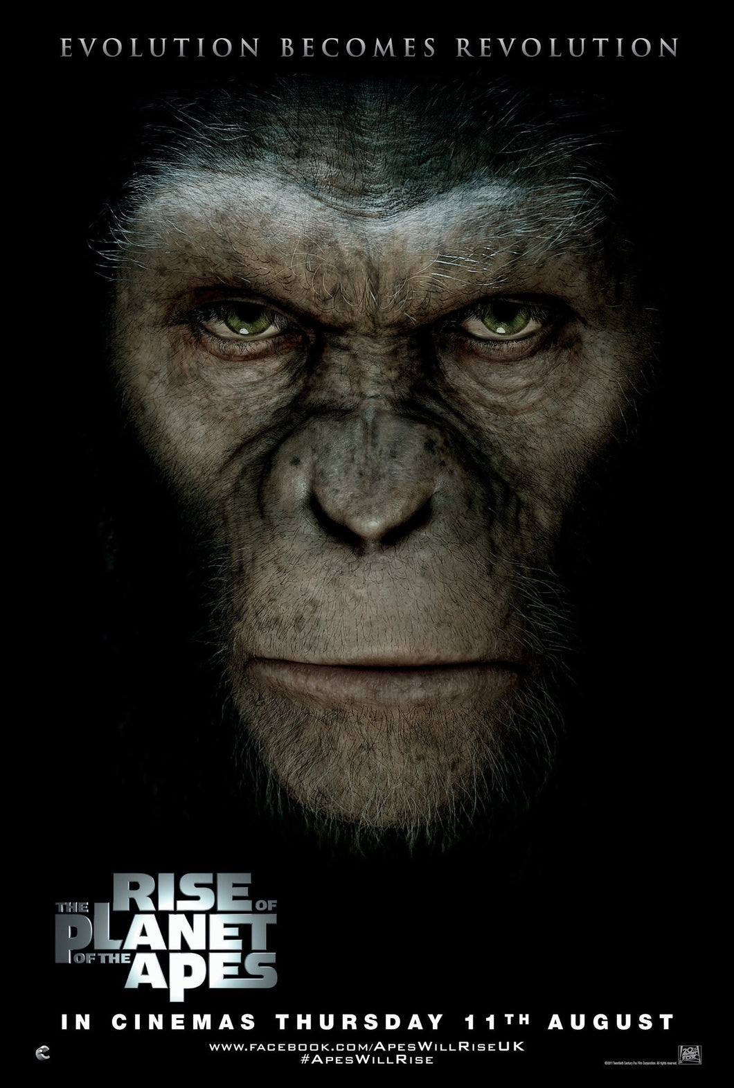 Poster Pelicula Rise of the Planet of the Apes