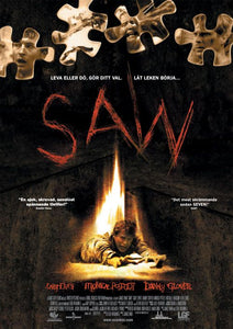 Poster Pelicula Saw