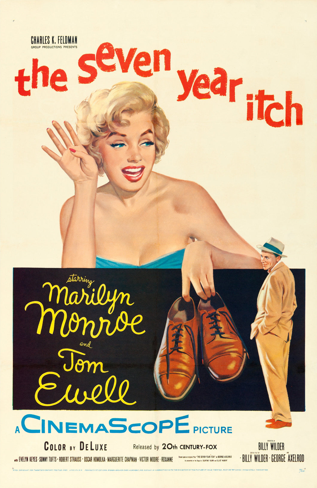 Poster Película The Seven Year Itch