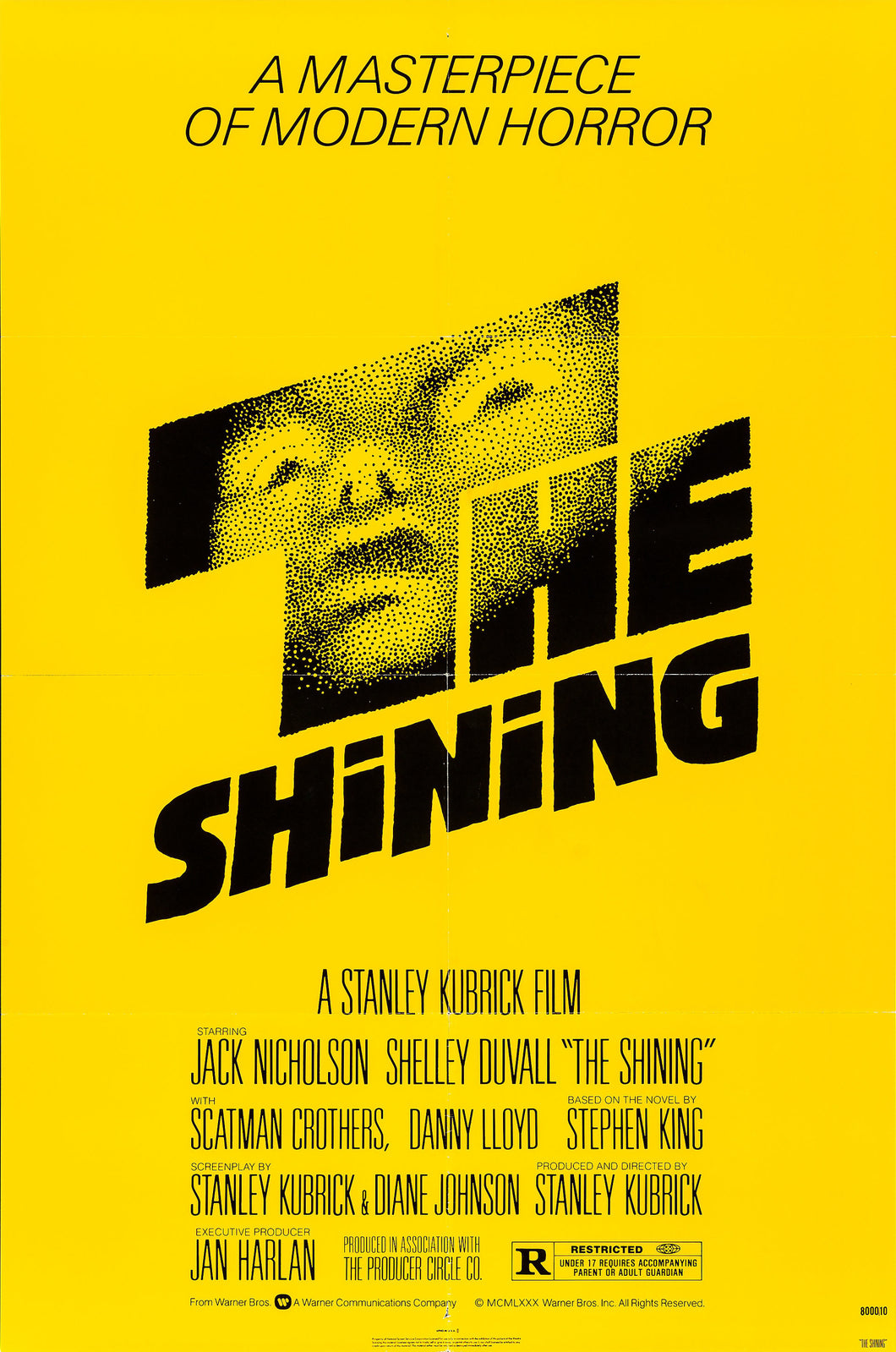 Poster Pelicula The Shining