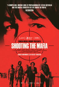 Poster Pelicula Shooting the Mafia