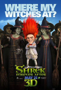 Poster Película Shrek Forever After
