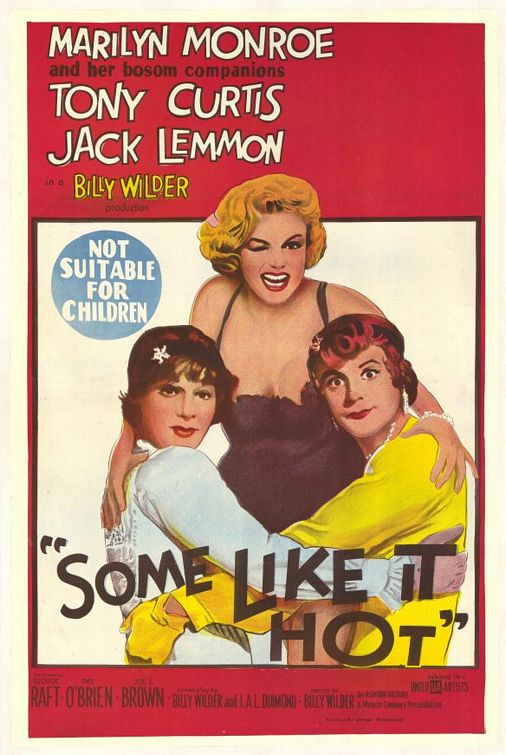 Poster Película Some Like it Hot