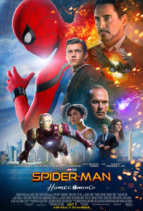 Poster Pelicula Spiderman: Homecoming