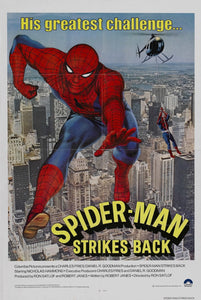 Poster Pelicula Spider-Man Strikes Back