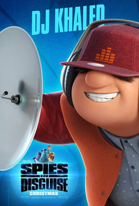 Poster Pelicula Spies in Disguise