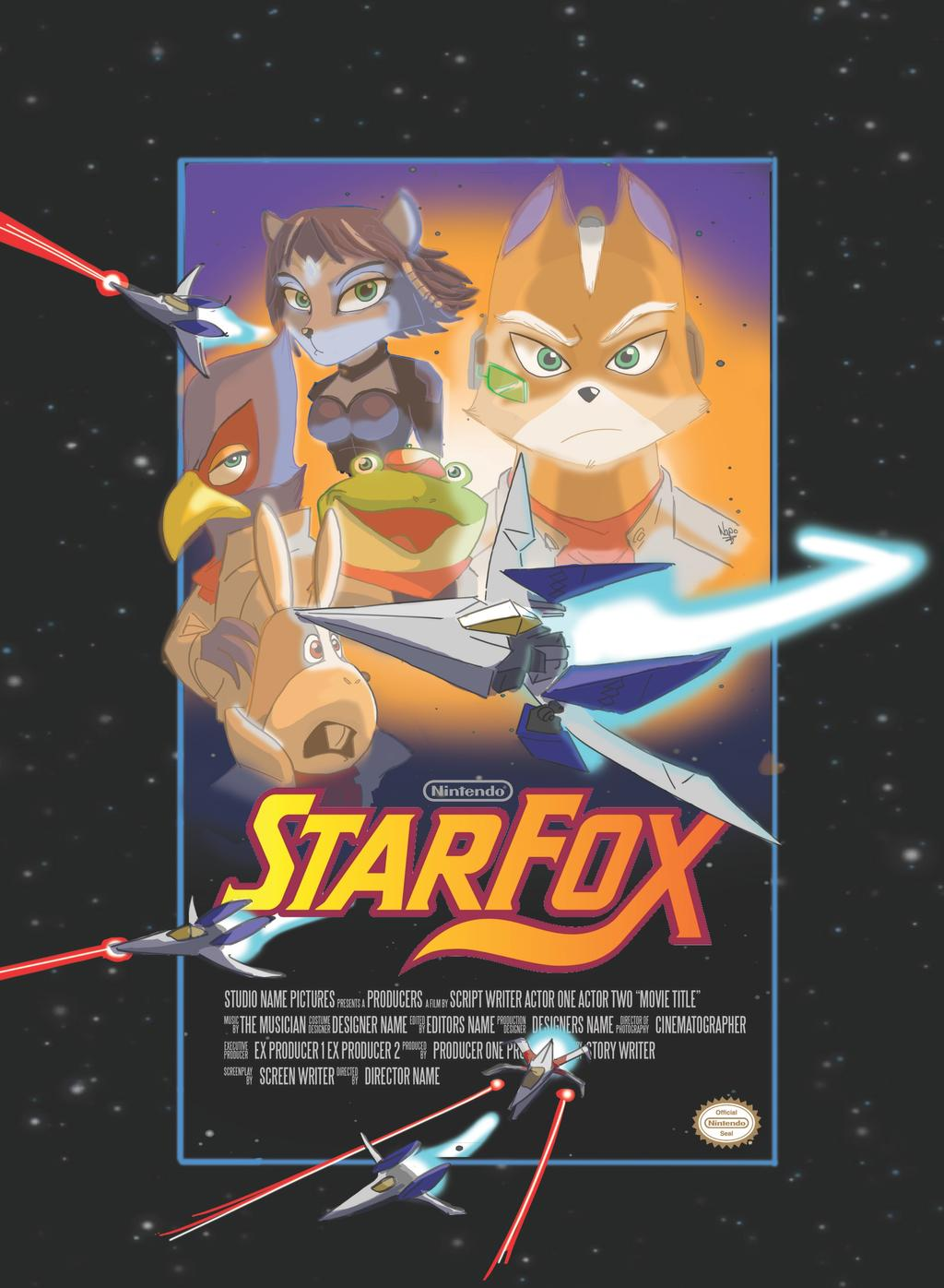 Poster Juego Star Fox 11