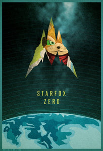 Poster Juego Star Fox 7