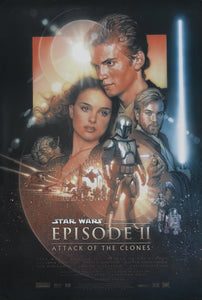 Poster Pelicula Star Wars Episode 2: Attack of the Clones