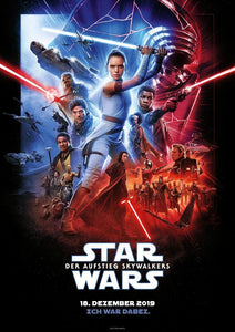 Poster Pelicula Star Wars: The Rise of Skywalker