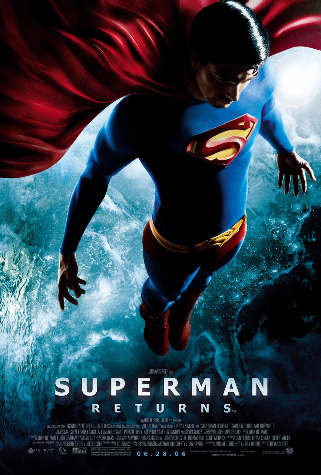 Poster Pelicula Superman Returns 2