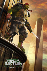 Poster Pelicula Teenage Mutant Ninja Turtles: Out of the Shadows
