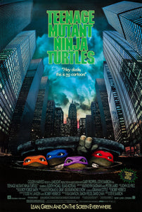 Poster Pelicula Teenage Mutant Ninja Turtles