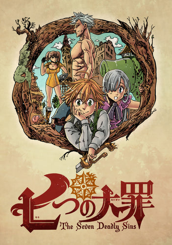 Poster Anime Seven Deadly Sins 10