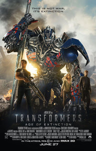 Poster Película Transformers: Age of Extinction
