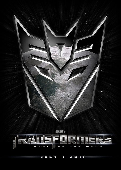 Poster Película Transformers: Dark of the Moon
