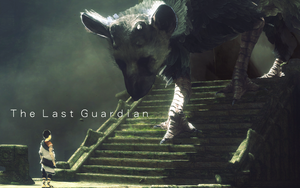 Poster Videojuego The Last Guardian