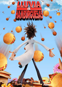 Poster Película Cloudy With a Chance of Meatballs