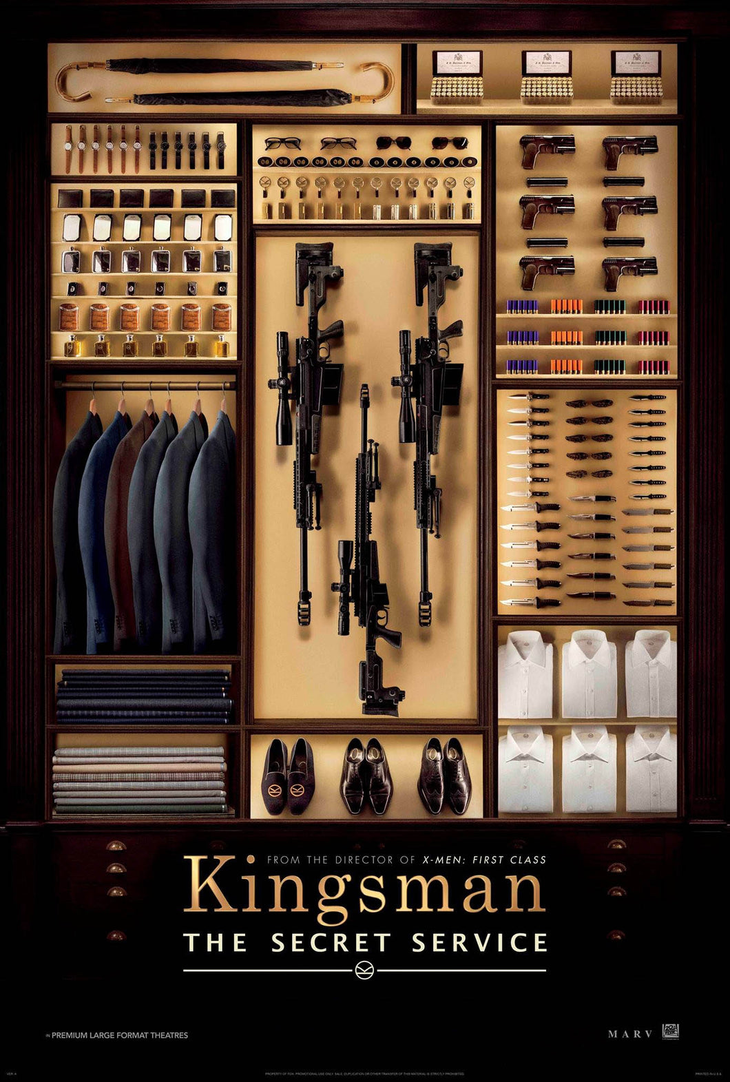 Poster Pelicula Kingsman: The Secret Service