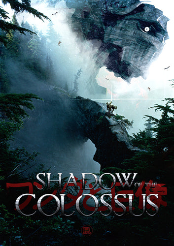 Poster Videojuego Shadow of the Colossus