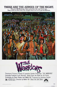 Poster Pelicula The Warriors
