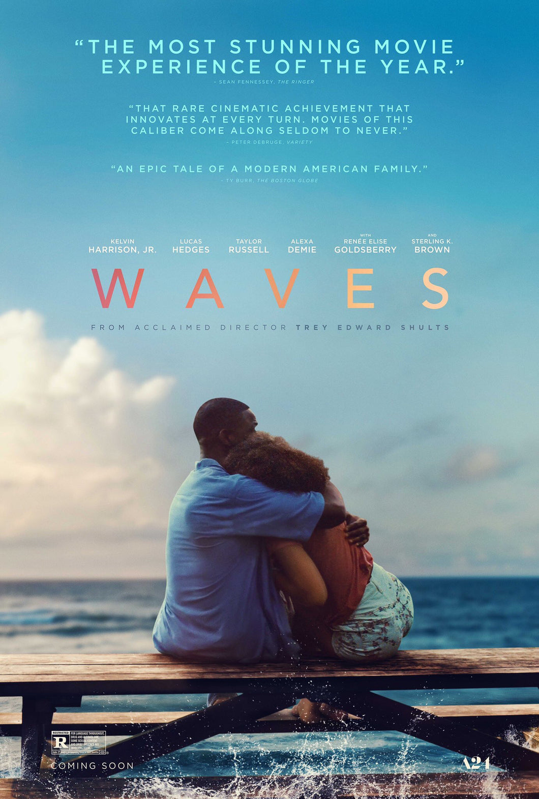Poster Pelicula Waves