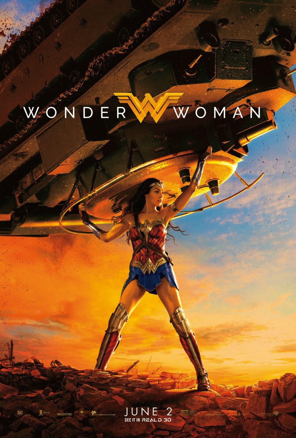Poster Pelicula Wonder Woman 11
