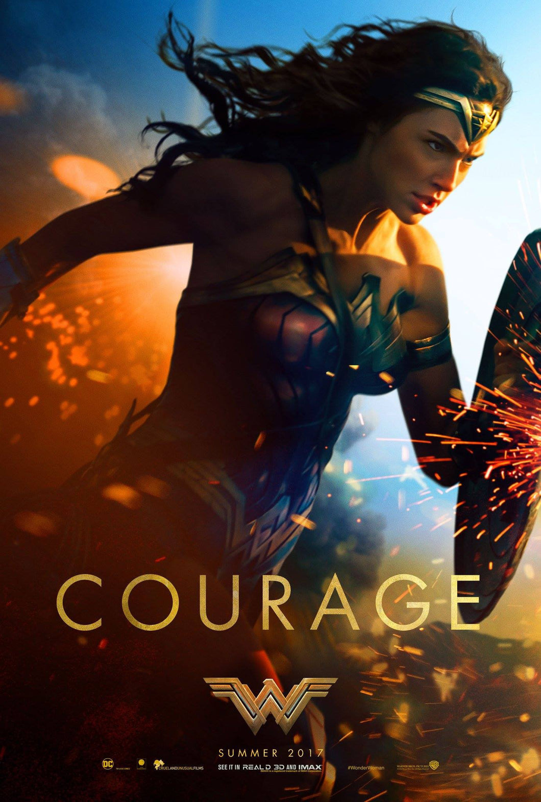 Poster Pelicula Wonder Woman 3