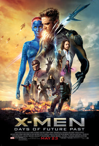 Poster Pelicula X-Men: Days of Future Past 4