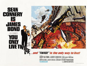 Poster Pelicula You Only Live Twice