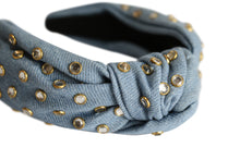 Load image into Gallery viewer, The Sun Bleached Denim Knot