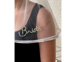 Open image in slideshow, Bougie Bride Veil