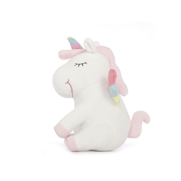 Smiling LED Light Up Unicorn Plush Toy