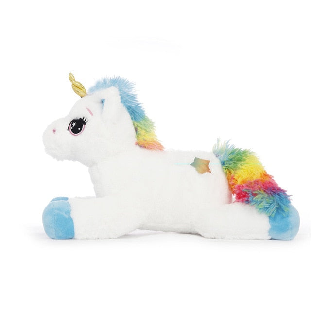 "Unique 16"" LED Light Up Unicorn Plush Toy"