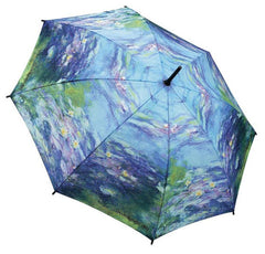 Water Lilies Stick Umbrella