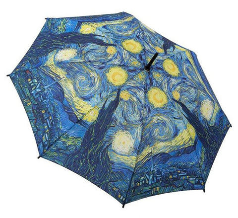 Picture of Starry Night Stick Umbrella