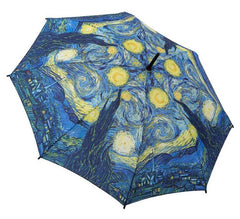 Starry Night Stick Umbrella