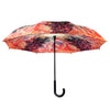 Monet, The Artist's House from the Rose Garden Stick Umbrella Reverse Close