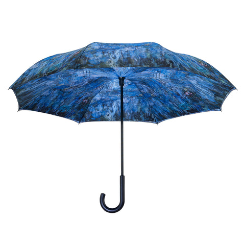 Picture of Waterlilies and Reflection of a Willow Tree RC Stick Umbrella
