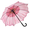 Pink Daisy Stick Umbrella