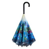 Bluebells Stick Umbrella Reverse Close