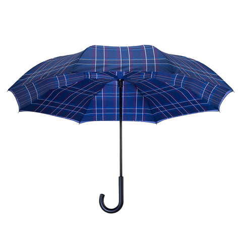 Picture of Blue Plaid RC Stick Umbrella
