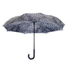 Leopard Skin Black & White RC Stick Umbrella