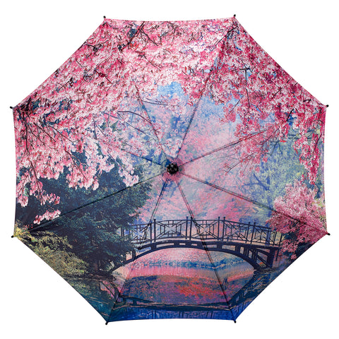 Picture of Cherry Blossoms Stick Umbrella