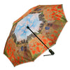 Poppy Field Reverse Close Folding Umbrella