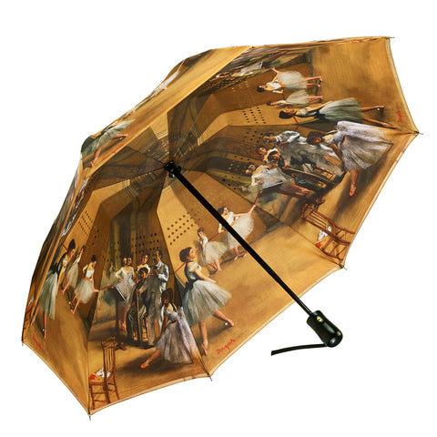 Picture of Ballerinas Reverse Close Folding Umbrella