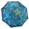 Van Gogh Irises Reverse Close Folding Umbrella