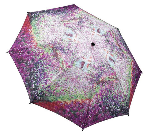 Picture of Monet's Garden Folding Umbrella