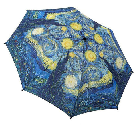 Picture of Starry Night Folding Umbrella