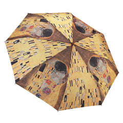 "Gustav Klimt ""The Kiss"" Folding Umbrella"